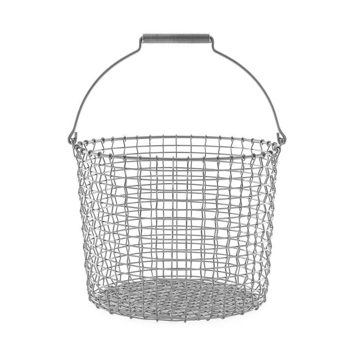 Bucket 20 trådkurv i rustfrit stål