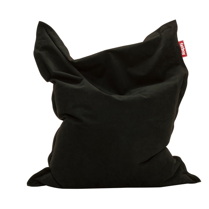 Original stenvasket sækkestol fra Fatboy i sort