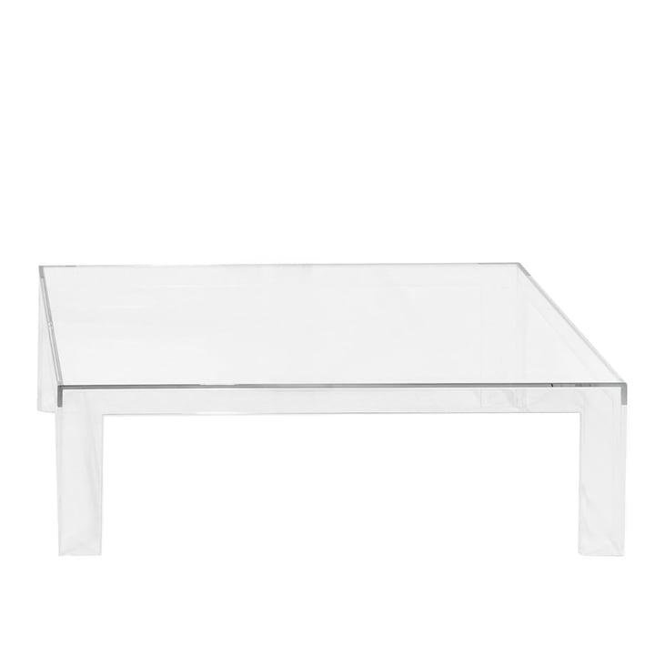 Kartell – Invisible bord H 31,5 cm, klar