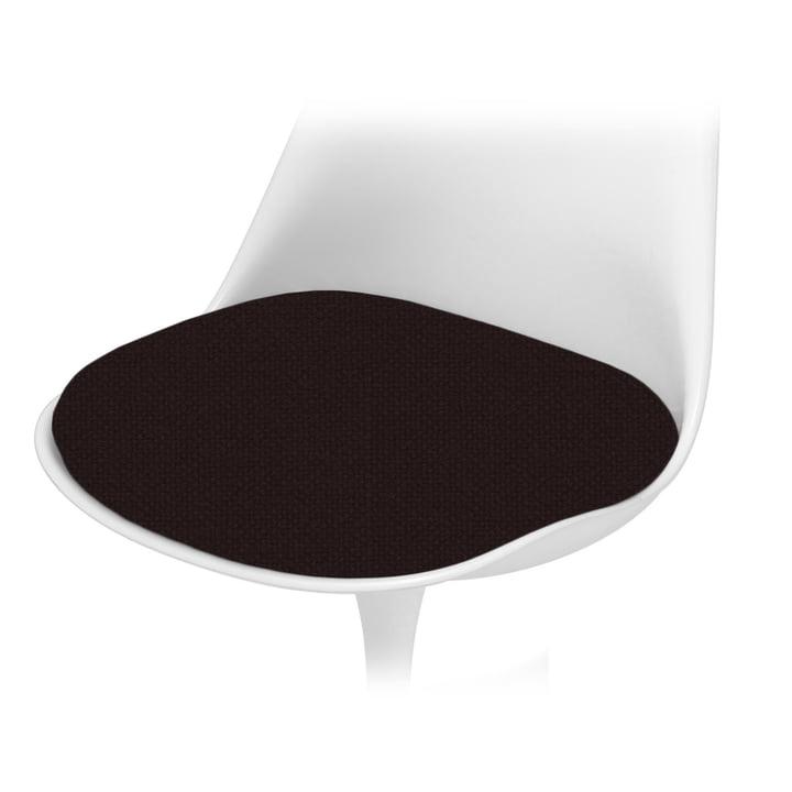 Knoll – sædepude til Saarinen Tulip stol – tone, sort