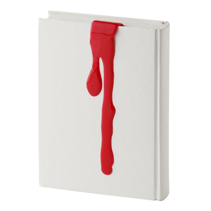 Kyouei Design – Liquid Bookmark, rød – med bog