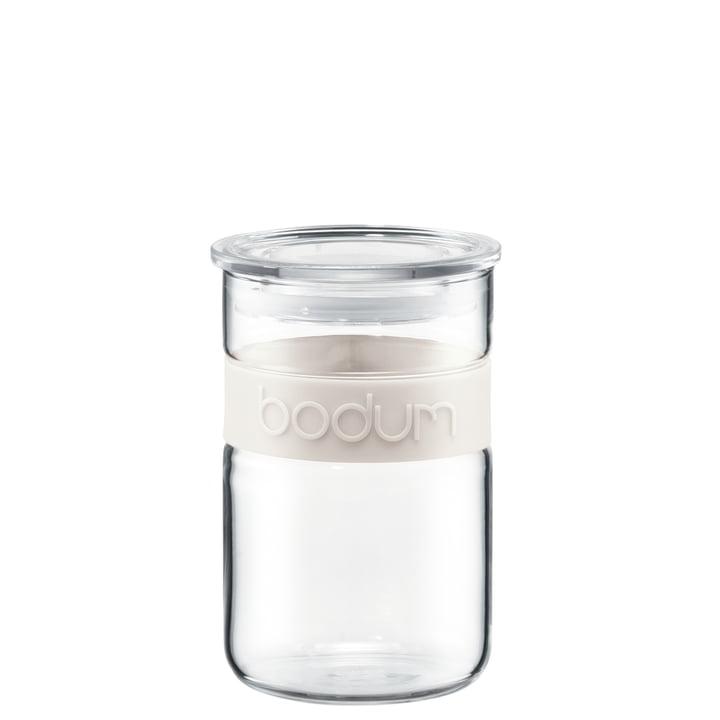 Bodum – Presso opbevaringsglas, 0,6 l, cremefarvet