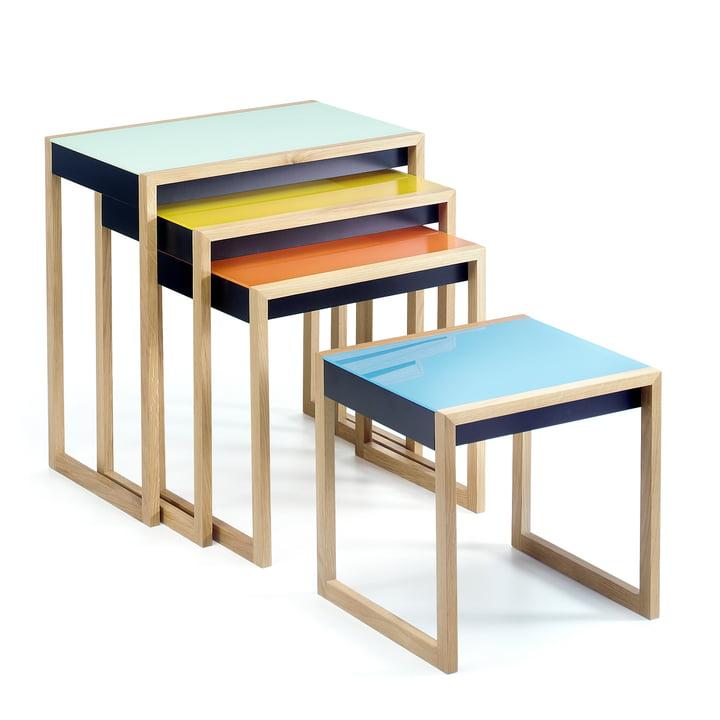 Josef Albers - Nesting Tables, sæt med 4 borde