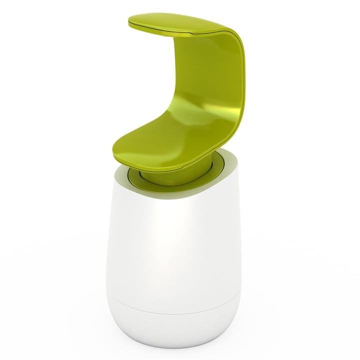 Joseph Joseph – C-pump sæbedispenser, hvid/grøn