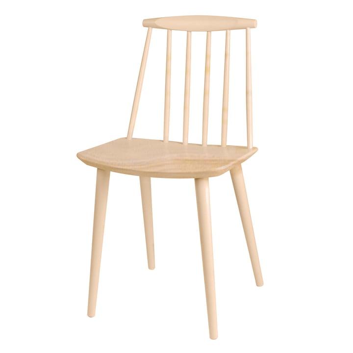 J77 Chair af Hay i bøg (naturlig)