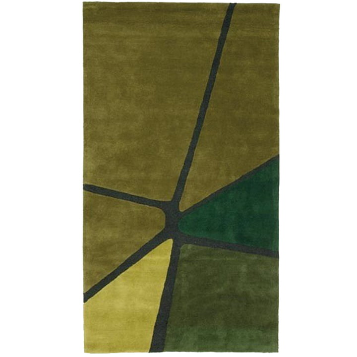 Ruckstuhl - Crack tæppe, olivengrøn