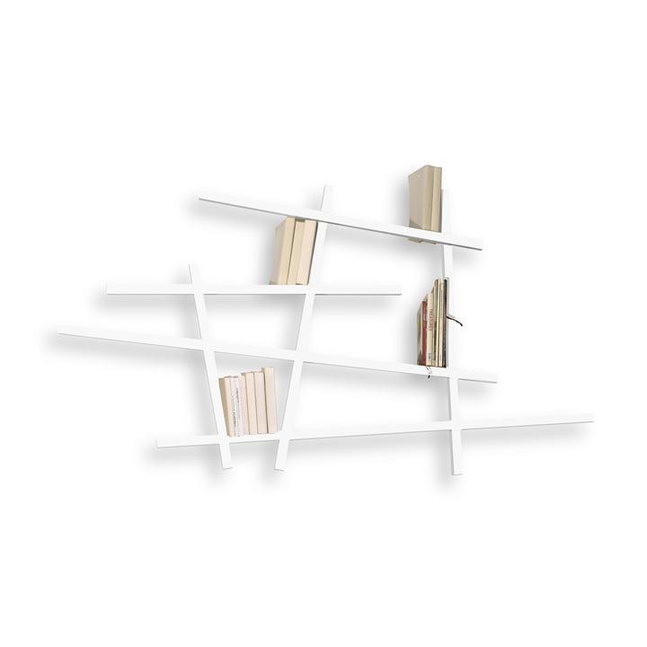 Edition Compagnie – Mikado bogreol, lille, hvid