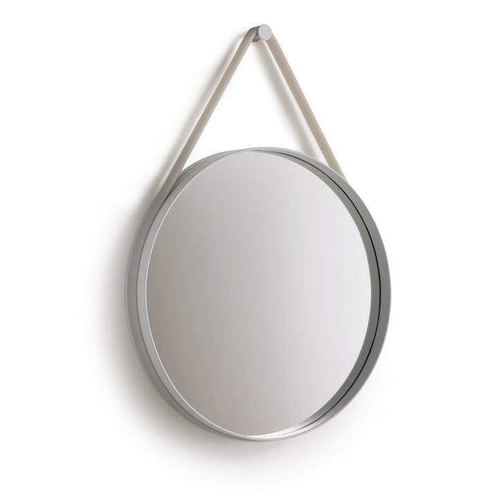 Strap Mirror 50 cm af Hay i gråt