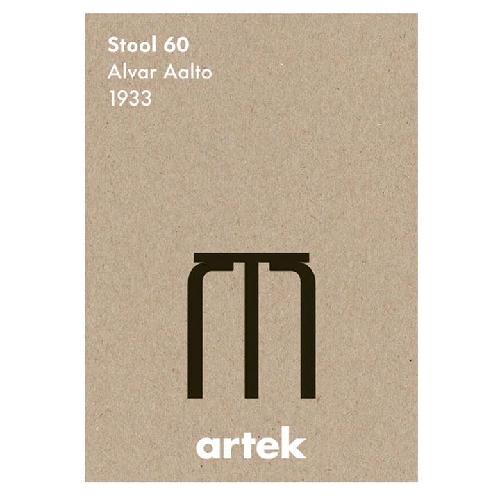 Artek – ikonplakat – taburet 60