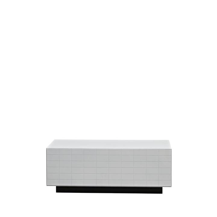 Casamania – Toshi Cabinet 1, skænk, sokkel, hvid