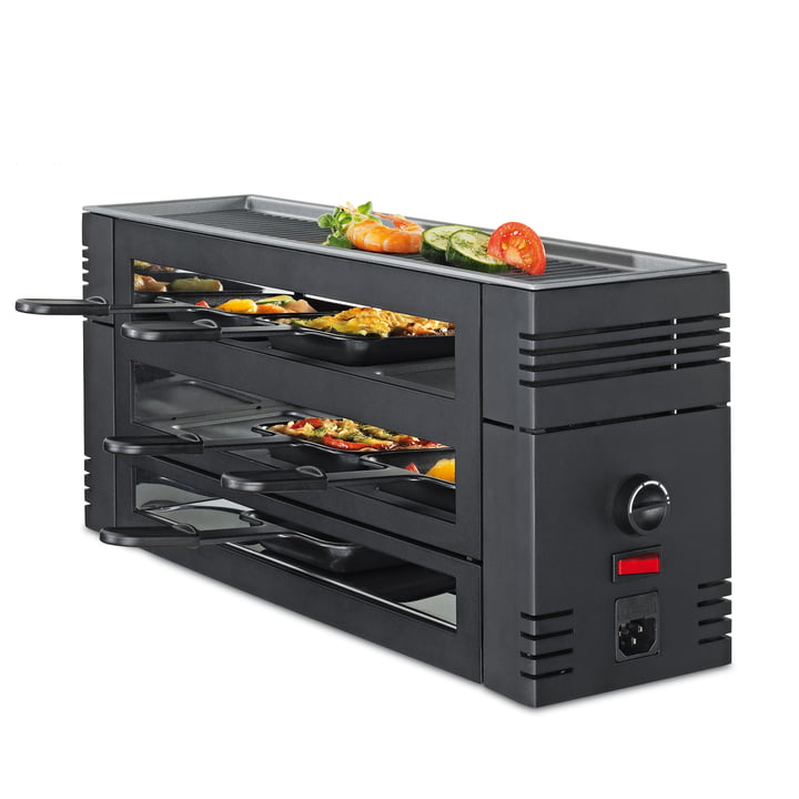 Spring – Pizza raclette 6 i sort