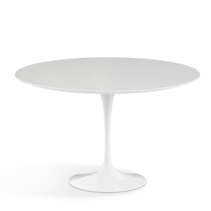 Knoll - Saarinen bord Ø 120 cm, hvid
