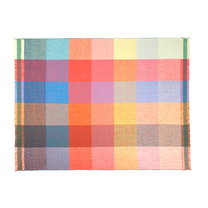 Zuzunaga, Squares uldtæppe, 140 x 180 cm