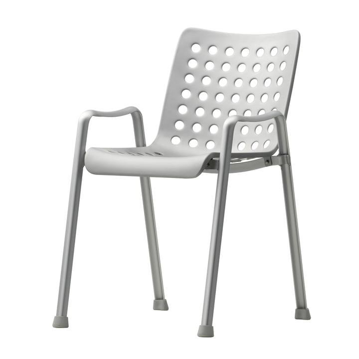 Vitra – Landi stol, anodiseret aluminium, 75 x 75 cm
