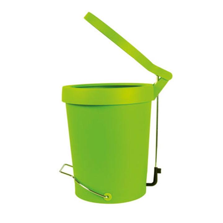 Authentics – Tip pedalspand, 7 liter, grøn, Ø 22 cm