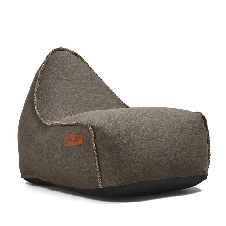 SACKit – RETROit udendørs sækkestol, brun