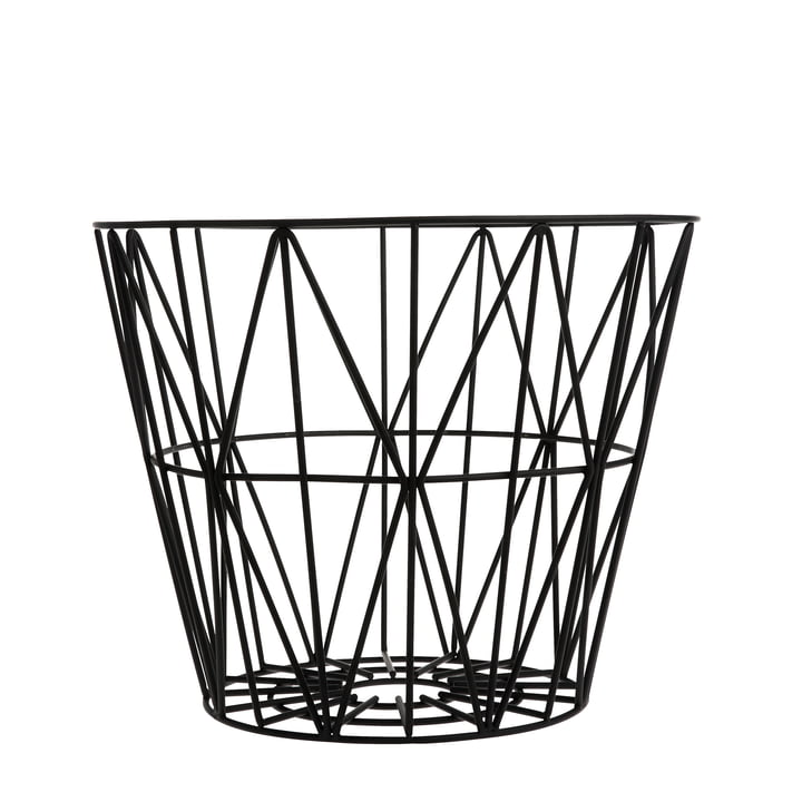 ferm LIVING – Wire Basket small, sort