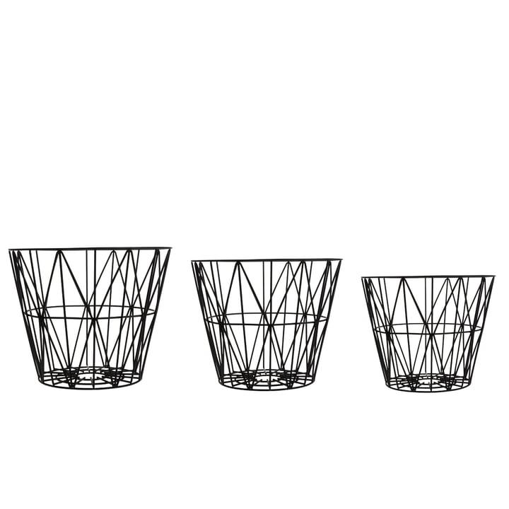 ferm LIVING – Wire Basket small, størrelser