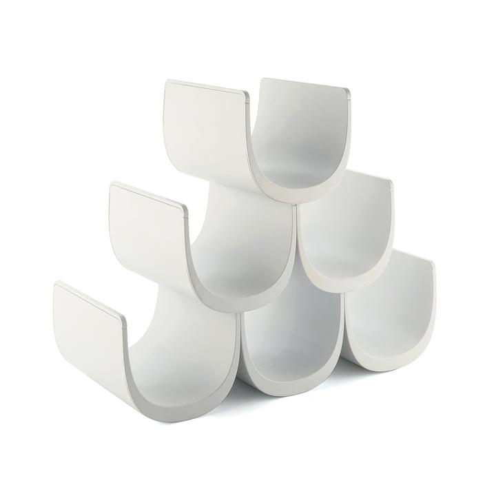 Alessi – Noè modulopbygget vinreol, hvid