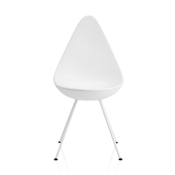 Fritz Hansen – Dråben stol, hvid