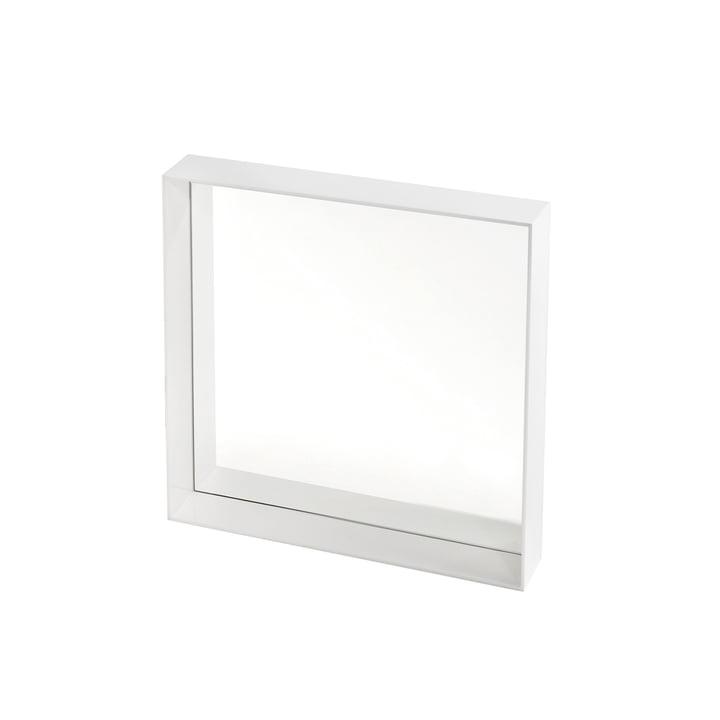 Kartell – Only Me spejl, 50 x 50 cm, hvid