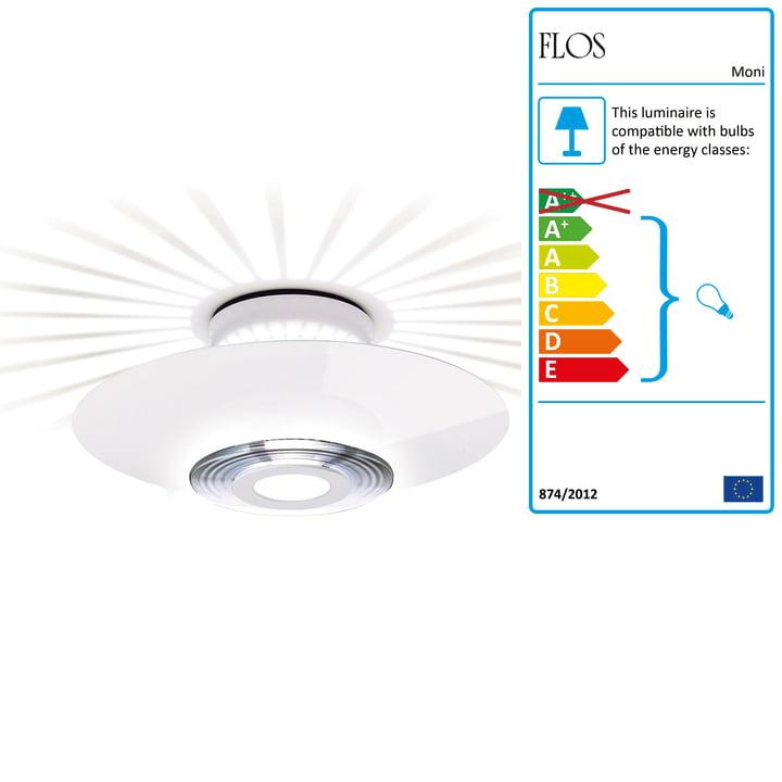 Flos - Moni 1 loftslampe