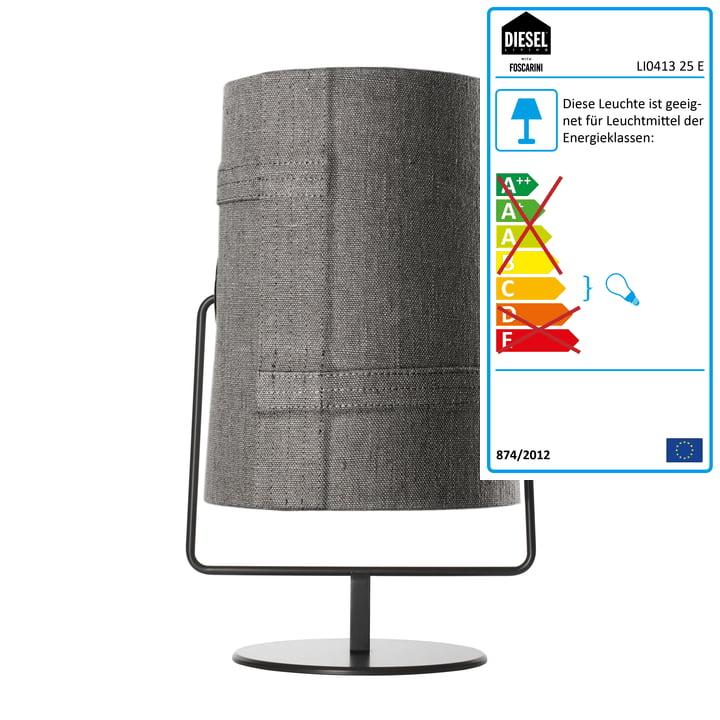 Diesel Living – Fork Maxi bordlampe, brun/grå