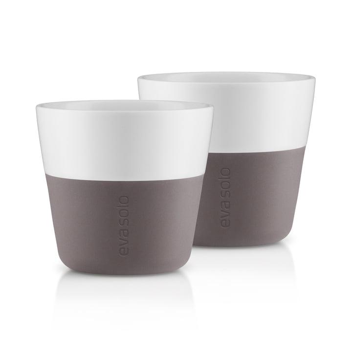 Caffé Lungo kopper (sæt med 2) af Eva Solo i grå