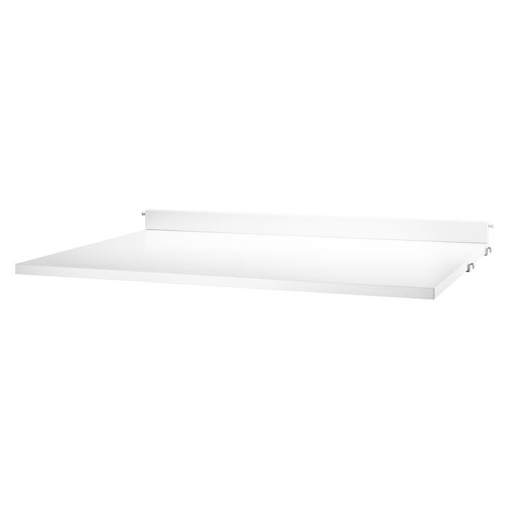 String – arbejdsbord, 78 x 58 cm, hvid belægning