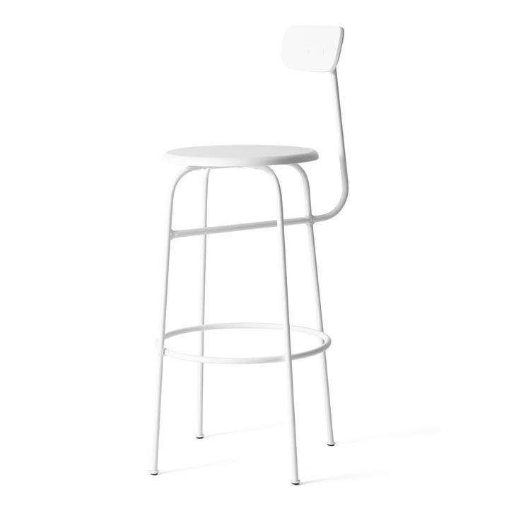 Afteroom barstol fra Menu i hvid