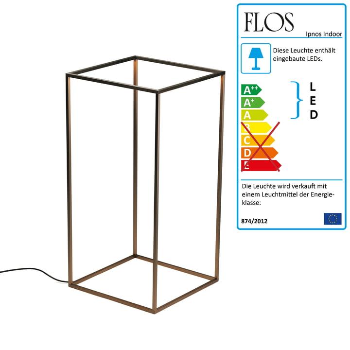 Flos - Ipnos Indoor gulvlampe, anodiseret bronze