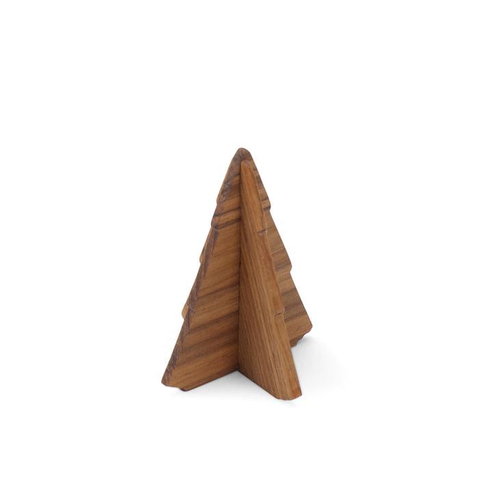 Skagerak – grantræ, 9 cm, teak