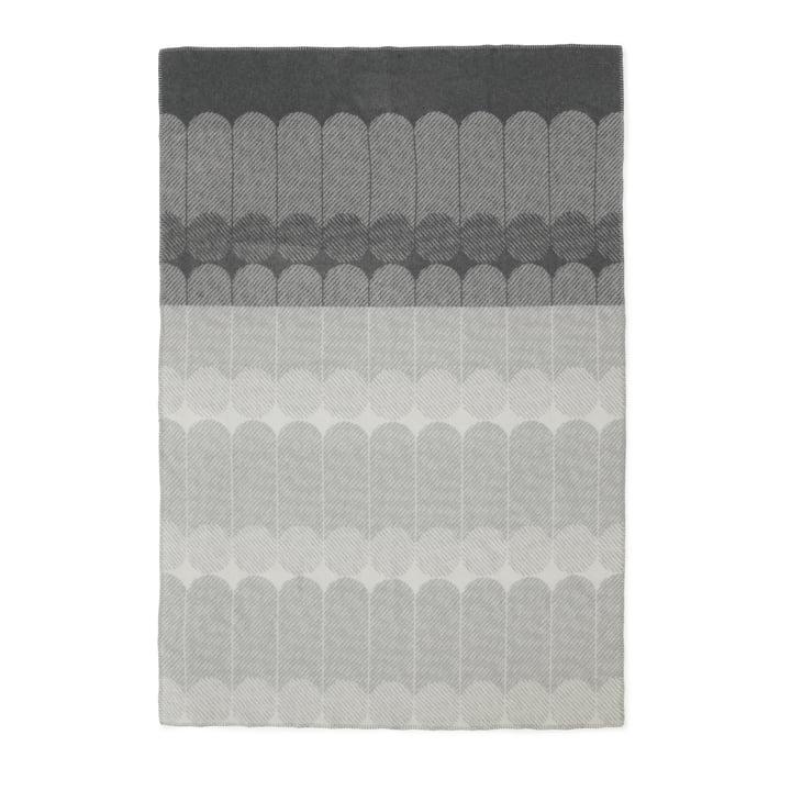 Normann Copenhagen – Ekko uldplaid, røgfarvet/grå