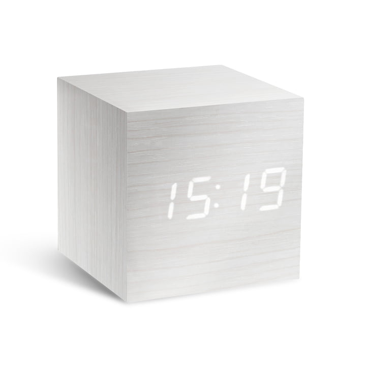 Gingko – Cube, hvid/LED hvid