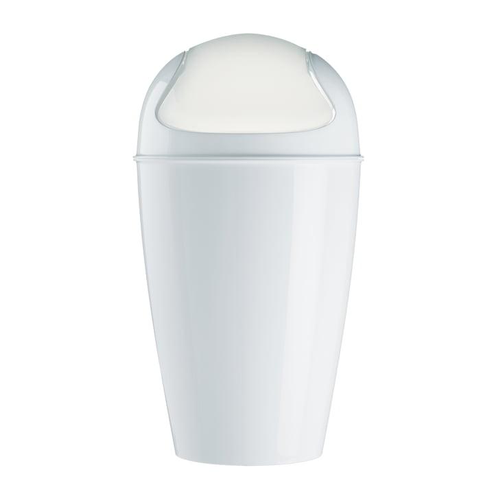 Koziol – DEL XL affaldsspand med svinglåg, 30l, hvid