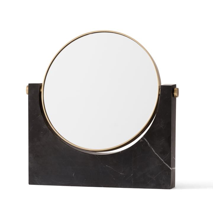 Menu – Pepe Marble spejl, messing/sort