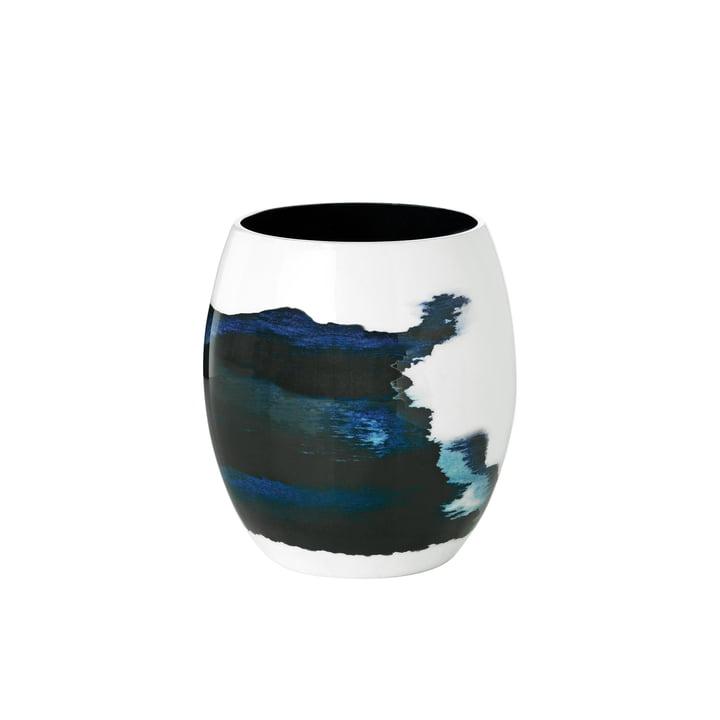 Stockholm Vase Aquatic fra Stelton i lille Ø 13,1 cm