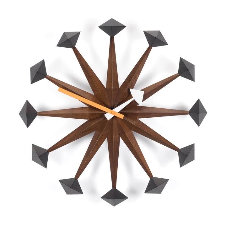 Vitra – Polygon ur, valnød