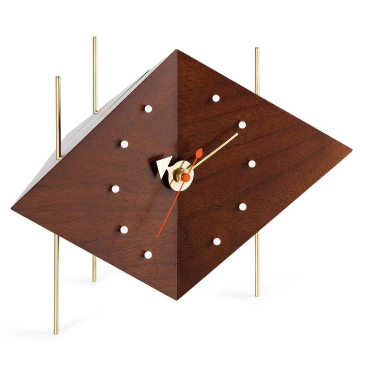 Vitra – Diamond Clock, massiv valnød