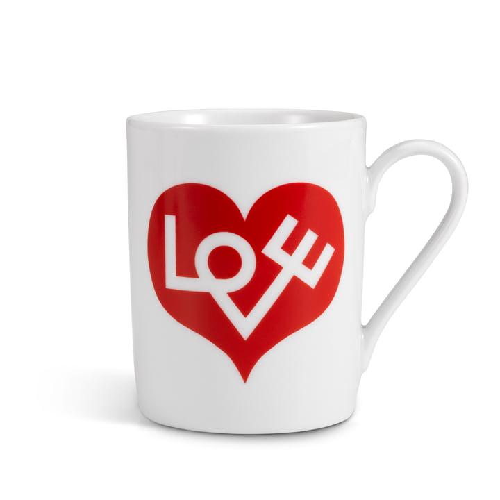 Vitra – kaffekrus, Love Heart, rød
