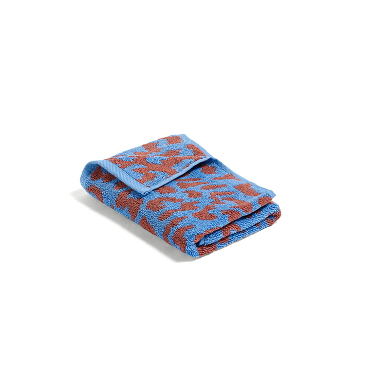 Hay – He She It håndklæde i himmelblå og kanel