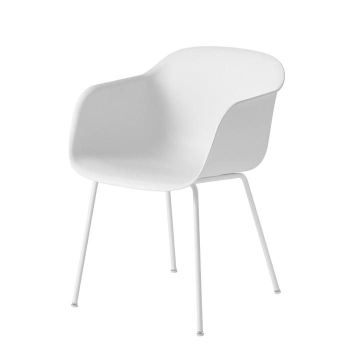 Muuto Fiber Chair Tube hvid