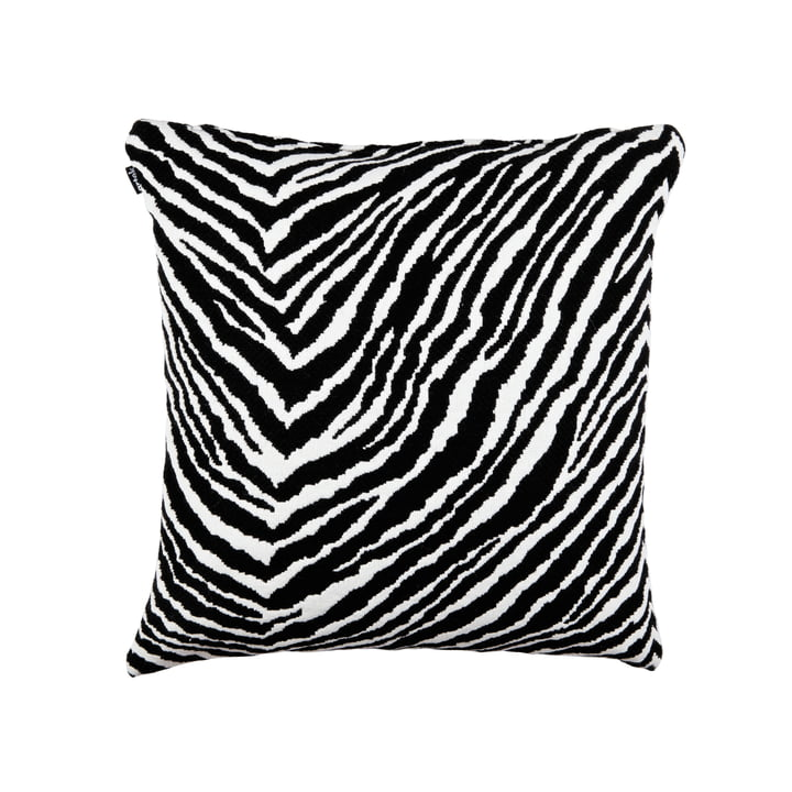 Artek – Zebra pudebetræk, vævet uldstof, 50 x 50 cm, sort/hvid