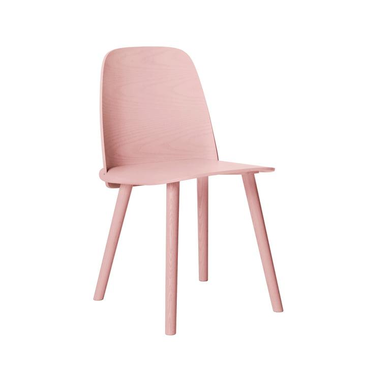 Muuto Nerd stol – lyserød