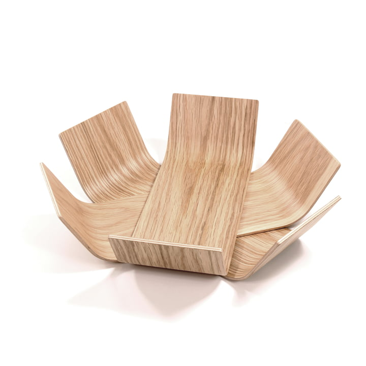 BeDesign – Lily skål, lille, lakeret eg