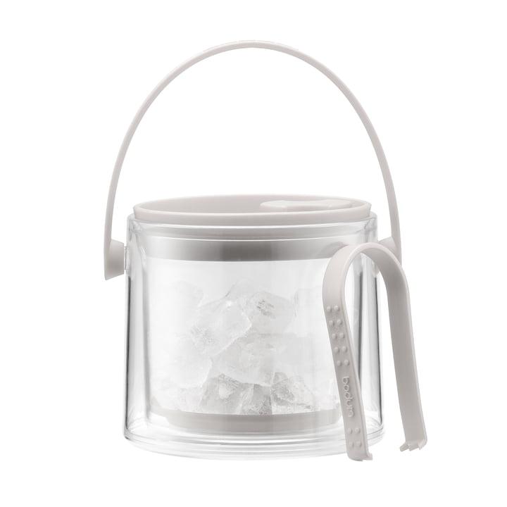 Bodum – Cool isspand med tang 1,5 l, cremefarvet