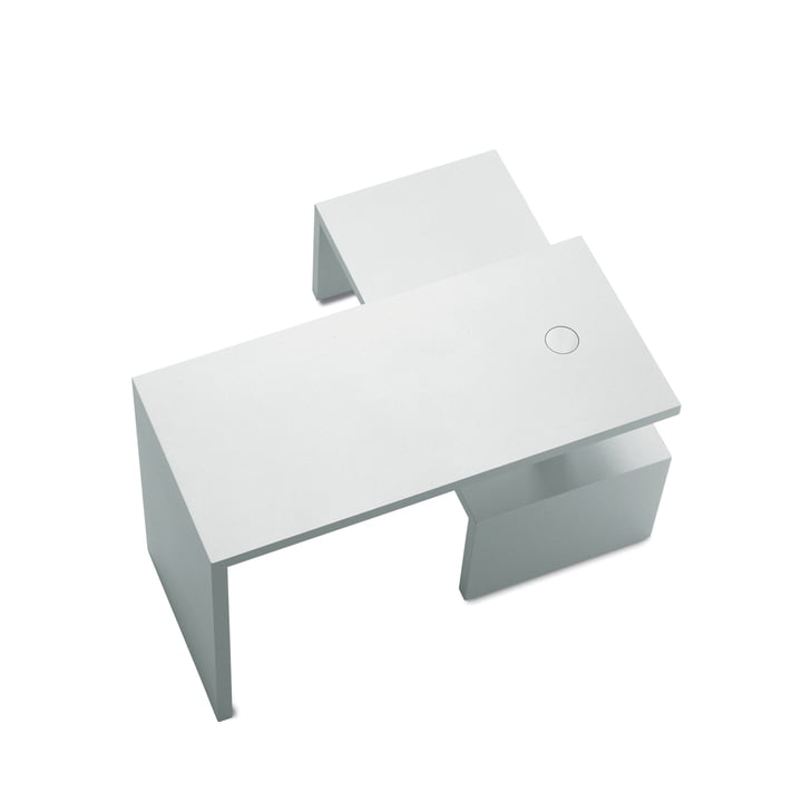 Zanotta – Basello sofabord (i to dele), hvid/hvid