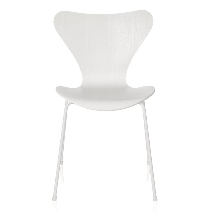 Fritz Hansen – Serie 7 stol, monokrom, hvid, 46,5 cm