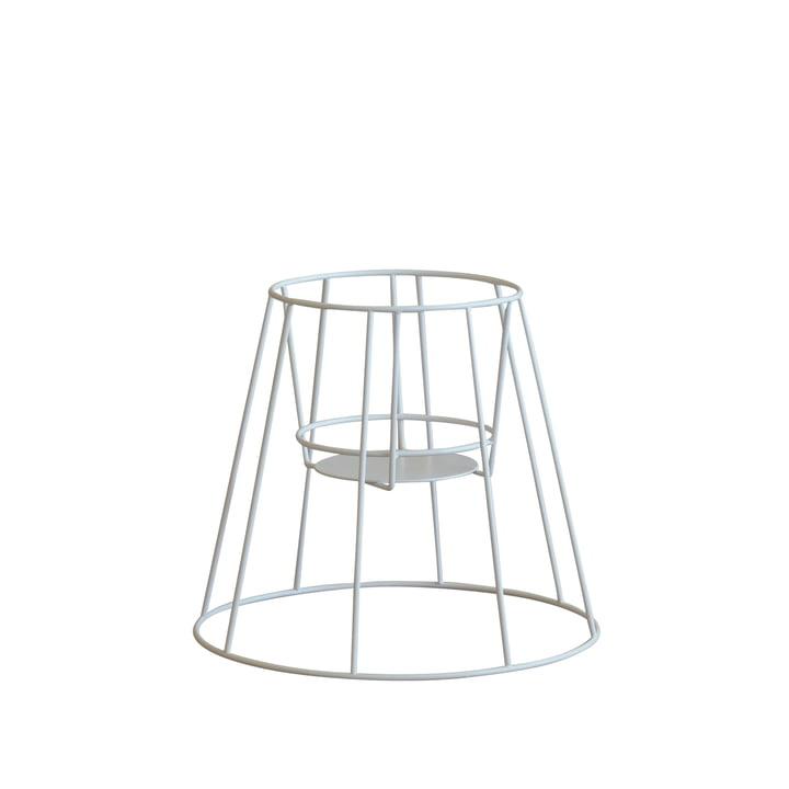 OK Design – Cibele urtepottestativ, lille, hvid