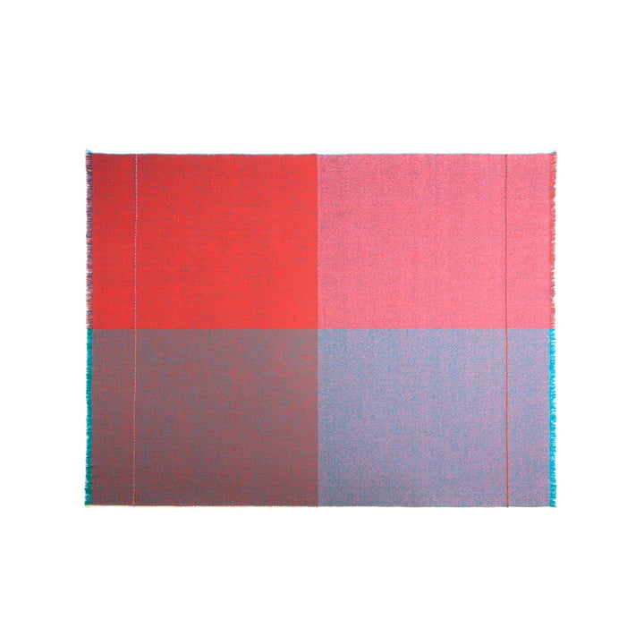 Zuzunaga – Quaternio rødt tæppe, 140 × 180 cm